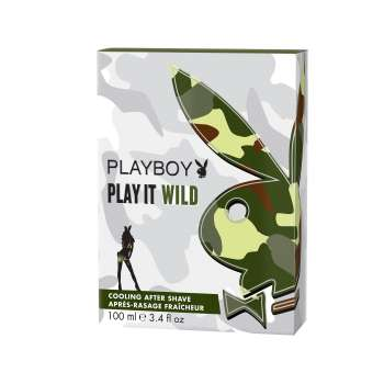 PLAYBOY AFTERSHAVE WILD 100ML