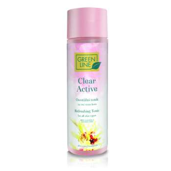 GREEN LINE CLEAR ACTIVE OSVJEZAVAJUCI TONIK 200 ML