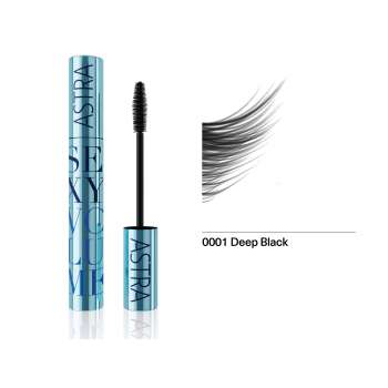 ASTRA MASKARA WP SEXY VOLUME WATERPROOF DEEP BLACK 01