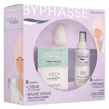 BYPHAS.SET Q10 DAY CREAM+FACE MIST COMBINATION TO OILY