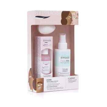 BYPHASSE SET PINK (SORBET SERUM MOISTURIZING 50ML + FACE HYDRATING SENSITIVE 150ML)