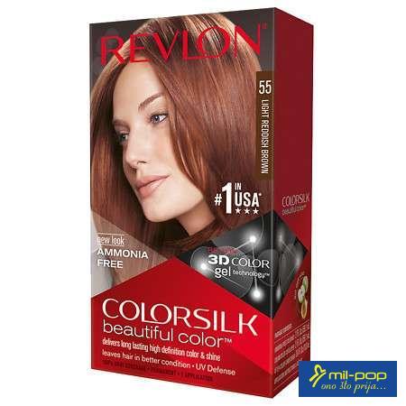 REVLON FARBA 55 LIGHT RED BROWN