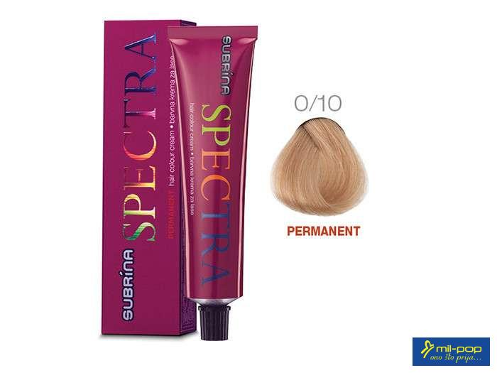 SUBRINA SPECTRA PERMANENT 0/10 60 ML