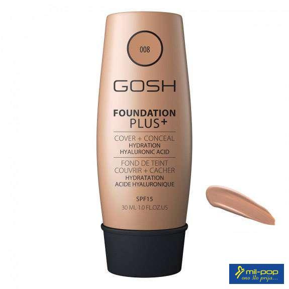 GOSH TECNI PUDER FOUNDATION PLUS 004 30ML