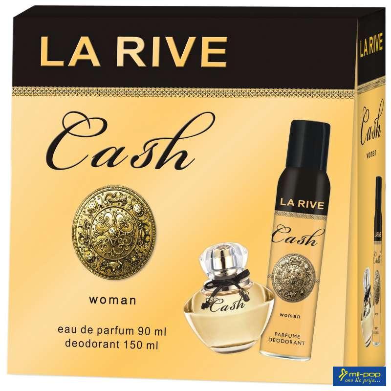 LA RIVE ŽENSKI SET CASH WOMAN - LADY MILION PACO RABBANE EDP 90ML+DEO 150ML