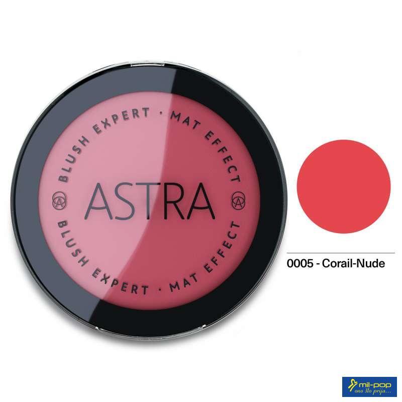ASTRA RUMENILO BLUSH EXPERT MAT CORAIL NUDE 05
