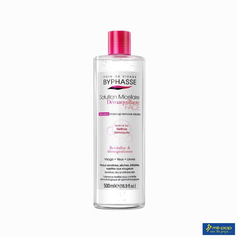 BYPHASSE MICELLAR MAKE UP REMOVER SOLUTION 500 ML